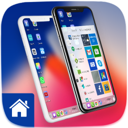Modern phone X Theme for Computer Launcher