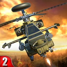 Helicopter Gunship strike 2 : Free Action Game