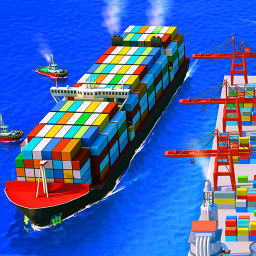 Sea Port: Cargo Ship & Town Build Tycoon Strategy