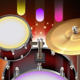 Drum Live: Real drum set drum kit music drum beat