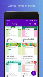 اسکرین شات برنامه G-Forms: Helps manage Google Forms on mobile 1