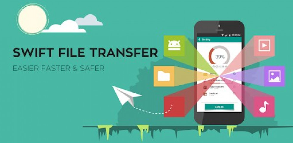 ویدئو برنامه SFT - Swift File Transfer | Award winning app