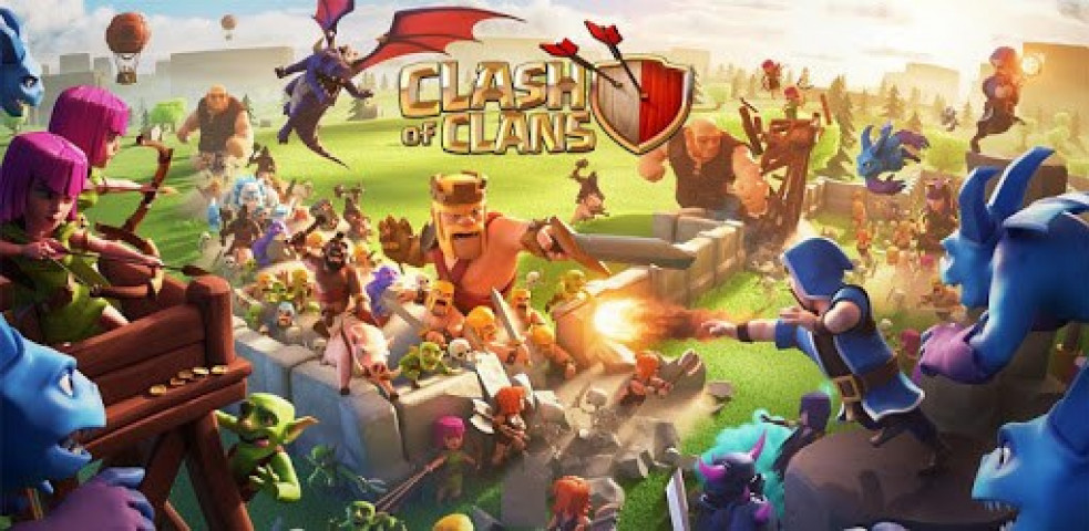 calsh of clans - کلش gameplay